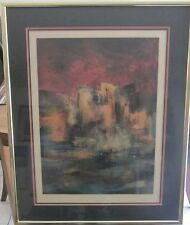 Signed Leonardo Nierman Ville Suite Lithograph Ed.250-Amazing-Stunning! W/COA