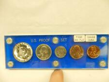 1960 SMALL DATE IN CAPITAL HOLDER PROOF SET    #BB211