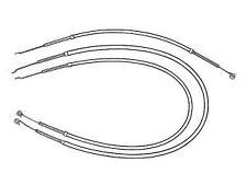 Mustang Heater Cables 3-Piece 1964 1965 1966 - Daniel Carpenter