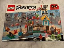 Lego Angry Birds Pig City Tear down Set 75824 From 2016 - Brand New Retired