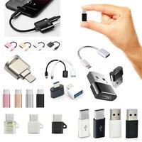 Type-C To 3.5mm AUX Jack Earphone USB-C Headphone Audio Adapter Converter Metal
