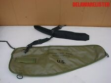 U.S. Military Marked Vintage M60 Barrel Rifle Gun Carry Bag Pouch w/Strap (New)