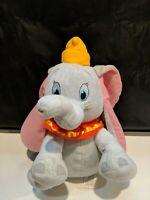"12"" Disney Plush Dumbo Stuffed Animal Elephant Kohls Cares for Kids"