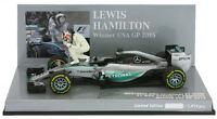 Minichamps Mercedes W06 Winner USA GP 2015 - Lewis Hamilton World Champion 1/43