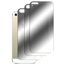 3 x Spiegelfolie  iPhone SE 5 5S Schutzfolie Mirror Rückseite Hinten Folie Film