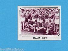 PANINI CALCIATORI 1977/78 - Figurina n.535- ITALIA 1950 - SQUADRA NAZIONALE-Rec
