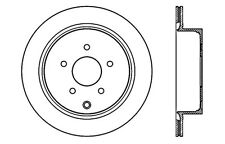 SportStop XDrilled & Slotted Rotor fits 2003-2015 Nissan Murano Quest Pathfinder