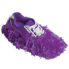 Robby's Fuzzy Bowling Shoe Covers Purple