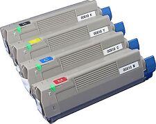 New ! 4PK HY Toner for OKI OKIDATA C610N Color Printer Toner 44315304 44315301