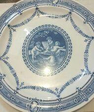 Wedgwood Wedgewood Blue Cherub Plate 19th century