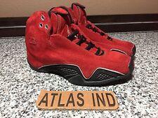 AIR JORDAN 21 Red Suede Nike XXI XX1 1 3 4 5 6 11 Toro Ferrari Raging Bulls 3.5Y