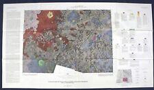 APOLLO 17 LANDING SITE GEOLOGIC MAPS 1972 Vintage PRE-MISSION 2-Map Set Perfect!