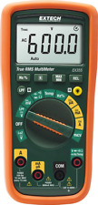 Extech Ex355 True Rms Professional Multimeter With Ncv And Temperature