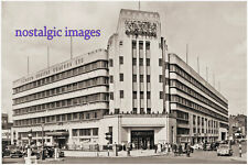 PHOTO TAKEN FROM A 1960's IMAGE OF THE VICTORIA COACH STATION - ART DECO DESIGN