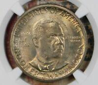 1946 Booker T Washington Commemorative Silver Half Dollar NGC MS66
