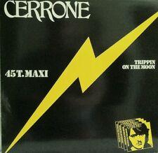 "CERRONE TRIPPIN ON THE MOON  12"" VINYL RECORD"