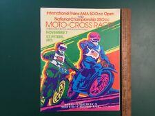 1971 International  Trans AMA Moto-Cross Races National Mid-America St Peters MO