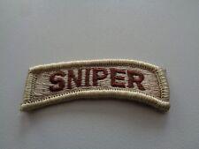 US Airborne Tab Aufnäher Patch desert SNIPER