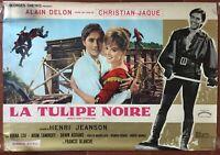 Plakat Italienische La Tulipe Noire Virna Lisi / Alain Delon Christian-Jaque