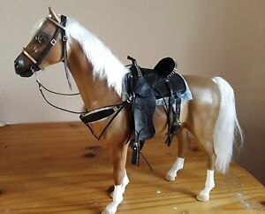 1/6 Scale Western Saddle And Bridle For Sindy Marx Mr Z Horses