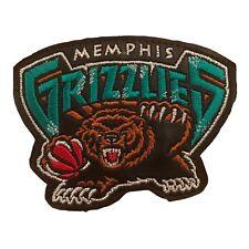 "2003 MEMPHIS GRIZZLIES NBA BASKETBALL VINTAGE 3 7/8"" TEAM LOGO PATCH"