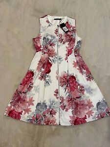 Forever New size 12 floral dress bnwt