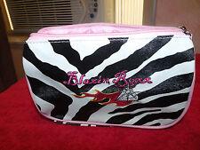 Faux leather, Blazin Roxx Cosmetic Bag/ Clutch purse, Multi-color- small