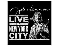 JOHN LENNON live in nyc EMBROIDERED IRON/SEW ON PATCH import BEATLES (sealed)