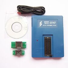 G540 USB Universal Programmer EPROM FLASH MCU GAL PIC Free Adapter Win7 WinXP