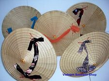 Set 10 NON LA Palm-leaf conical hat-Highest Quality-Handmade from Vietnamese