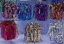 Metallic shreds, Mylar filler - any color - 3.0 oz. bag