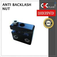 Anti-Backlash Nut Block Delrin for 8mm lead Screw Acme Rod CNC C-Beam 3D Printer