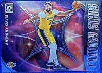 ANTHONY DAVIS 2019-20 Donruss Optic FANTASY STARS #8 Los Angeles Lakers BASE KY