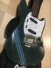 Fender Japan Mustang MG69 Blue, MIJ, Kurt Cobain used color model, v7352