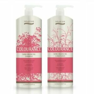 Natural Look Colourance Shine Enhancing Shampoo & Conditioner 1L Cruelty Free