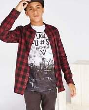 T-shirts, débardeurs et chemises à motif Carreaux pour garçon de 10 ans