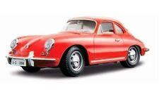 1:18 Bburago Porsche 356B Coupé (1961) Rojo Rojo