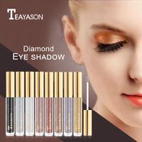 Eyeshadow Waterproof Glitter Glow Eyeliner Gel Shimmer Makeup Cosmetics LIU9