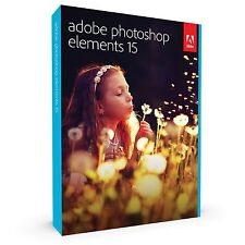 Adobe Photoshop Elements 15 & Premiere Elements 15 Brand New Free Shipping