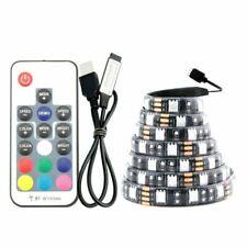 5V USB LED Light RGB 5050 30Led/M USB+Controlle Led Strip Tape Lamp TV Backlight