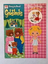 VINTAGE - Goldilocks Paper Doll Book - Whitman 1972