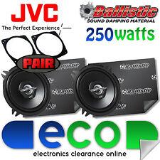 Ford Fiesta JVC 13cm 500 Watts 2 Way Front Door Car Speakers & Sound Deadening