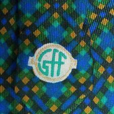 Étroit Bleu Vert Argile Soie Ferre Cravate