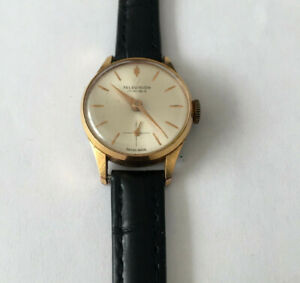 VINTAGE WATCH TELEVISION 17 RUBIS SWISS MADE MECHANICAL MOVEMENT