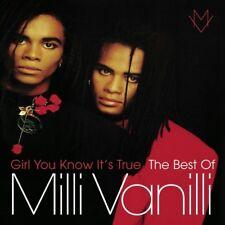 MILLI VANILLI - GIRL YOU KNOW IT'S TRUE-THE BEST OF MILLI VANILLI- CD NEW+