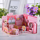 Doll House Miniature DIY Kit Dolls Toy House With Furniture Miniature Bedroom