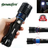 Zoomable 5000LM 5 Modes CREE XM-L T6 LED High Power Flashlight 18650 Torch Lamp