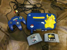 N64 pikachu edition plus games zelda and top gear rally 2