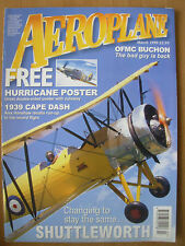 AEROPLANE MONTHLY MAGAZINE MARCH 1999 WITH FREE HURRICANE POSTER