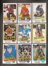 1981-82 OPC Complete Your Set [Choose from List] O-Pee NM++ Hockey Card